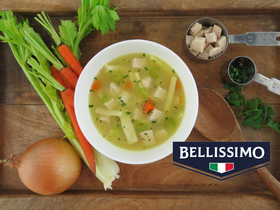 Bellissimo Soups made fresh from scratch