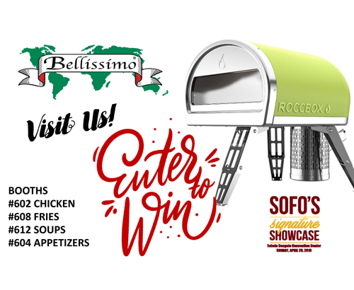 Win a ROCCBOX Pizza Oven at Sofo's Signature Showcase